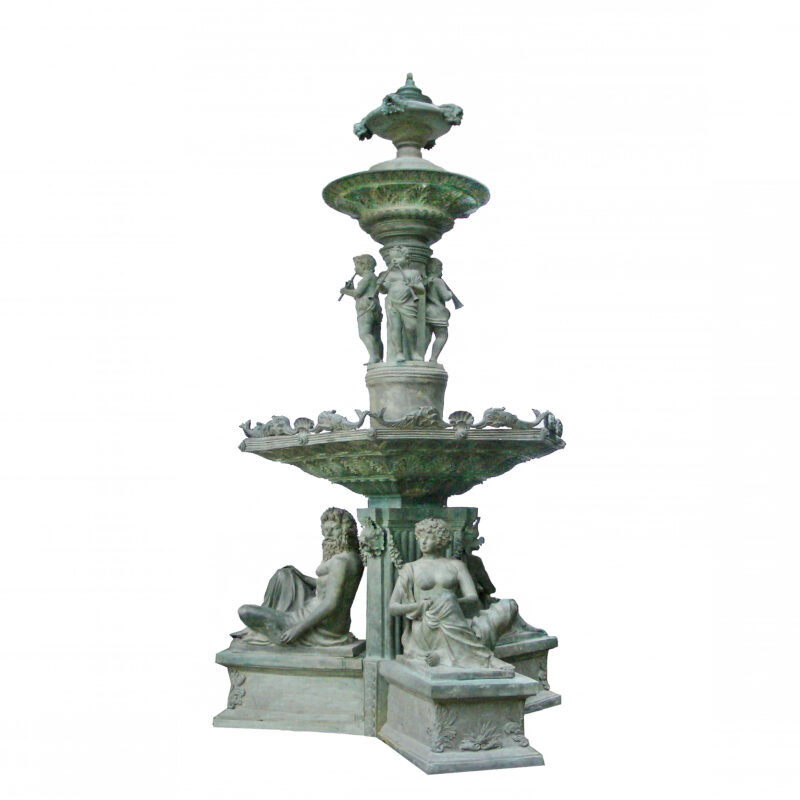 SRB703334 Bronze Large Tier Fountain Metropolitan Galleries Inc
