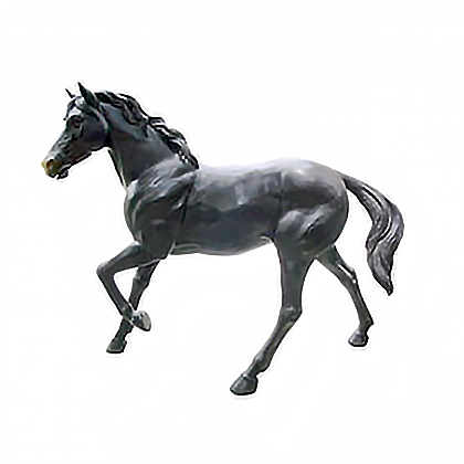 SRB705943 Bronze Walking Horse Sculpture Metropolitan Galleries Inc
