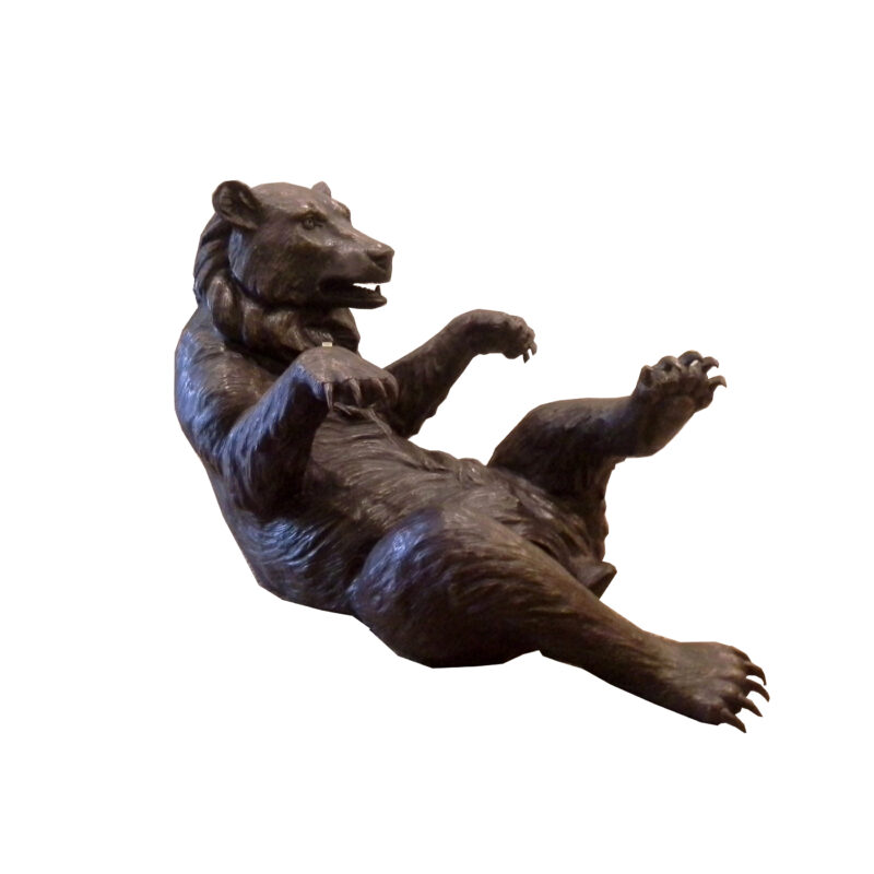 SRB703067 Bronze Bear Coffee Table Sculpture by Metropolitan Galleries Inc