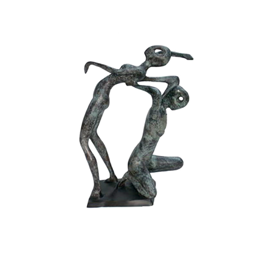 SRB705858 Bronze Abstract 'The Dancers' Sculpture by Metropolitan Galleries Inc