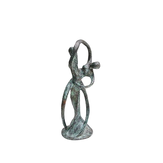 SRB705892 Bronze Abstract 'Twirling Dancers' Sculpture Set By Metropolitan Galleries Inc