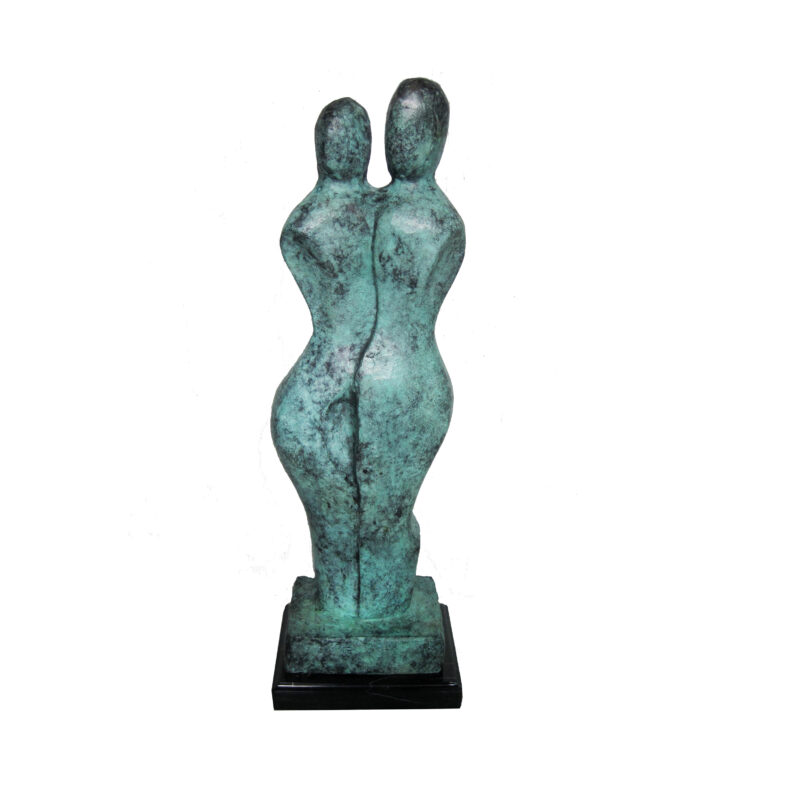 SRB707058 Bronze Abstract Figurine Sculpture by Metropolitan Galleries Inc