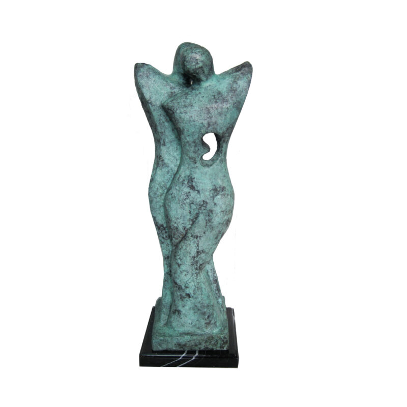 SRB707061 Bronze Abstract Couple Sculpture by Metropolitan Galleries Inc