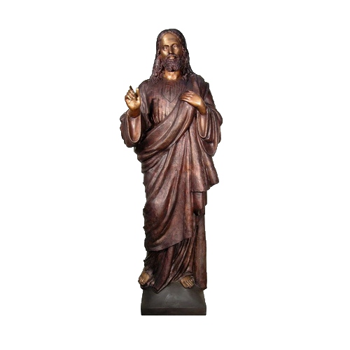 SRB094132 Bronze Jesus Sculpture by Metropolitan Galleries Inc