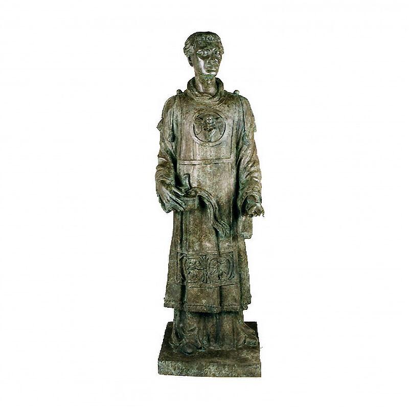 SRB97022CS Bronze Catholic Saint Sculpture by Metropolitan Galleries Inc