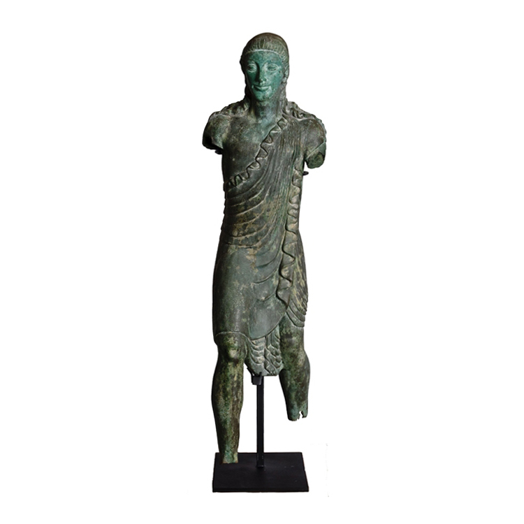 SRB53063 Bronze Male Partial Artifact Sculpture by Metropolitan Galleries Inc