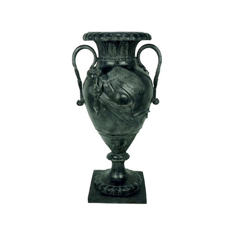 SRB55022 Bronze French Urn with Handles by Metropolitan Galleries Inc