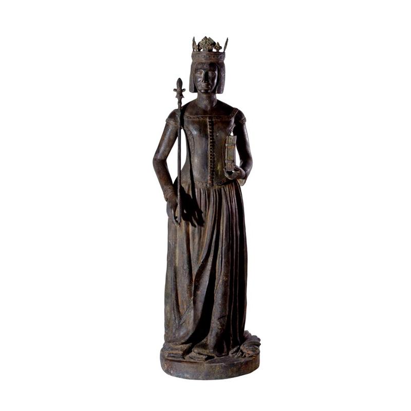 SRB97037 Bronze Roman Catholic Saint Sculpture by Metropolitan Galleries Inc
