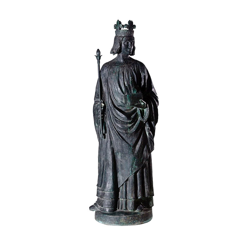 SRB97038 Bronze Catholic Saint Sculpture by Metropolitan Galleries Inc