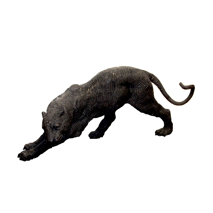 SRB990255 Bronze Downward Panther Sculpture by Metropolitan Galleries Inc