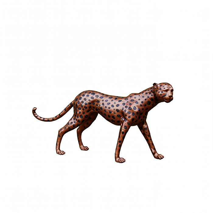 SRB990732 Bronze Cheetah Sculpture by Metropolitan Galleries Inc
