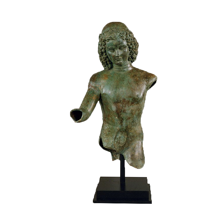 SRB991473 Bronze Dionysus Partial Artifact Sculpture by Metropolitan Galleries Inc