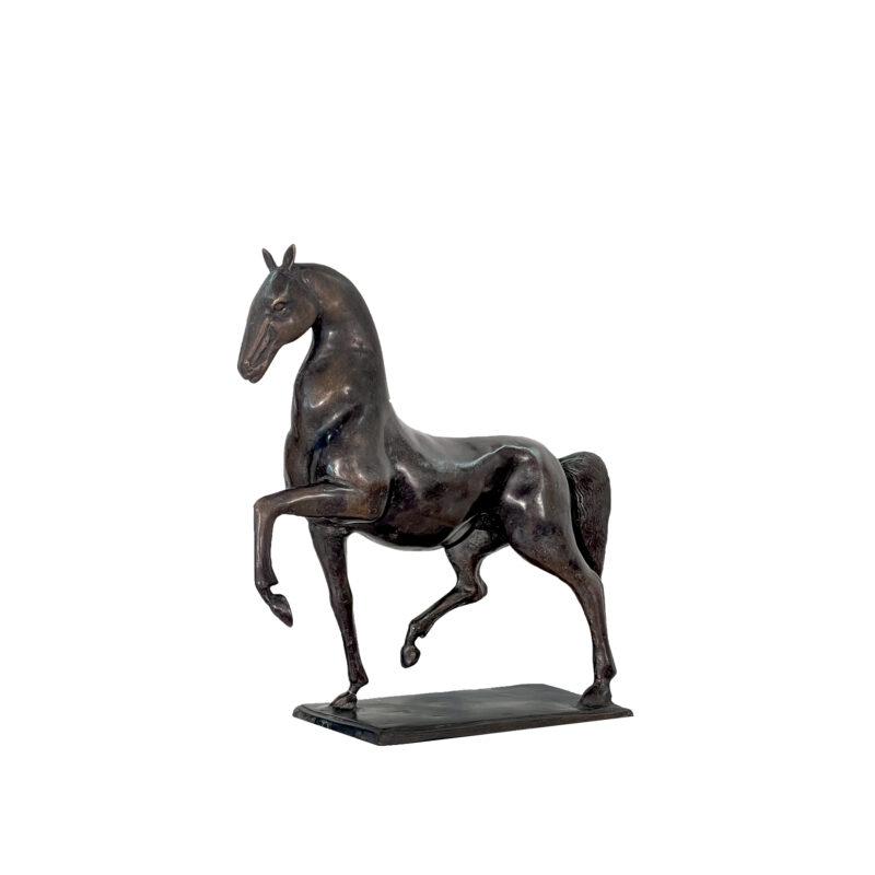 SRB991583 Bronze Contemporary Horse Sculpture by Metropolitan Galleries Inc