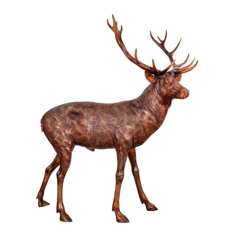SRB10119-A Bronze Father Buck Sculpture exclusive by Metropolitan Galleries Inc