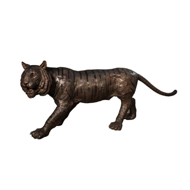SRB050520 Bronze Tiger Sculpture by Metropolitan Galleries Inc