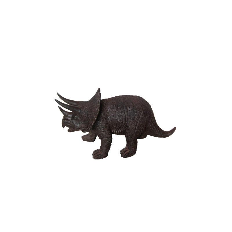 SRB707467 Bronze Triceratops Dinosaur Sculpture by Metropolitan Galleries Inc