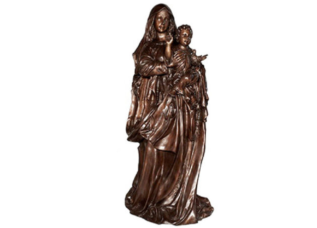 The Sculpture of the Blessed Mother