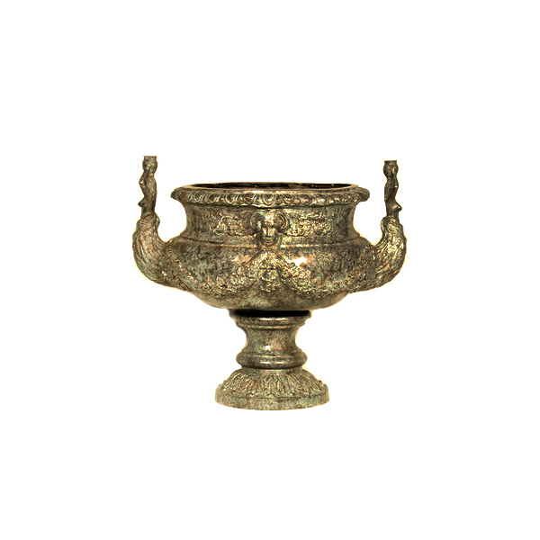 SRB056074 Bronze Arabian Planter Urn by Metropolitan Galleries Inc