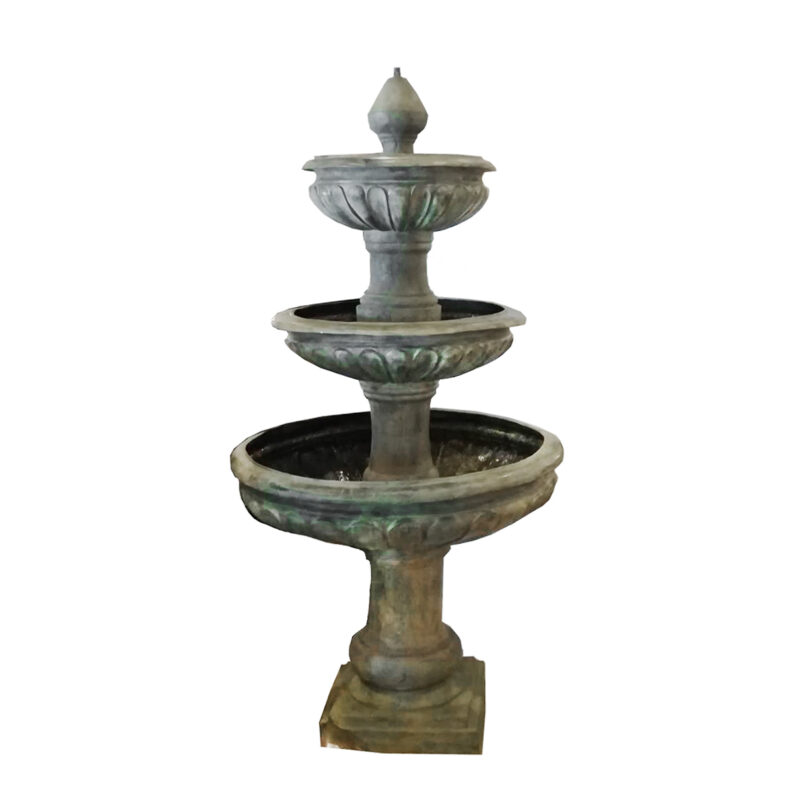 SRB707516 Bronze Traditional Three TIer Fountain by Metropolitan Galleries Inc