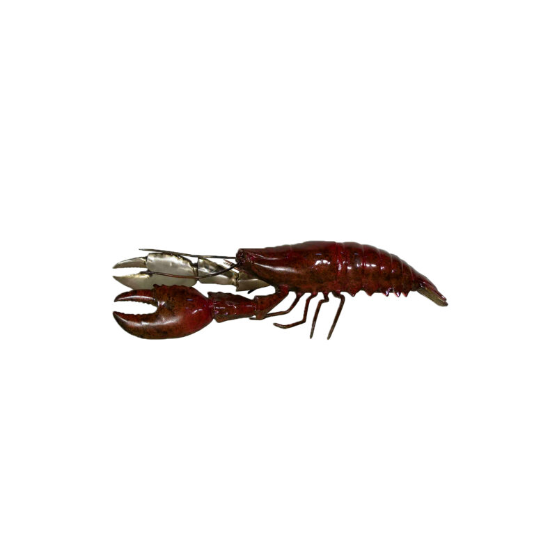 SRB094122C Bronze Lobster Sculpture in Color Finish by Metropolitan Galleries Inc