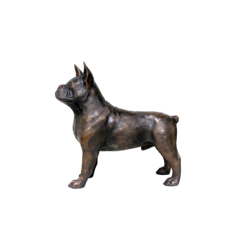 SRB706598 Bronze French Bulldog Sculpture by Metropolitan Galleries Inc