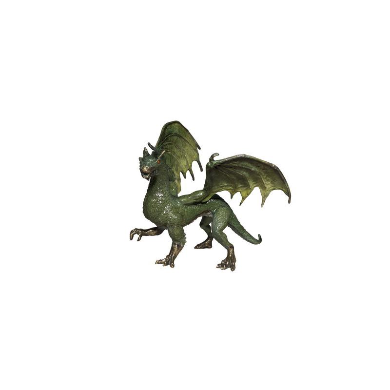 SRB098206C Bronze Winged Walking Dragon Table-top Sculpture by Metropolitan Galleries Inc