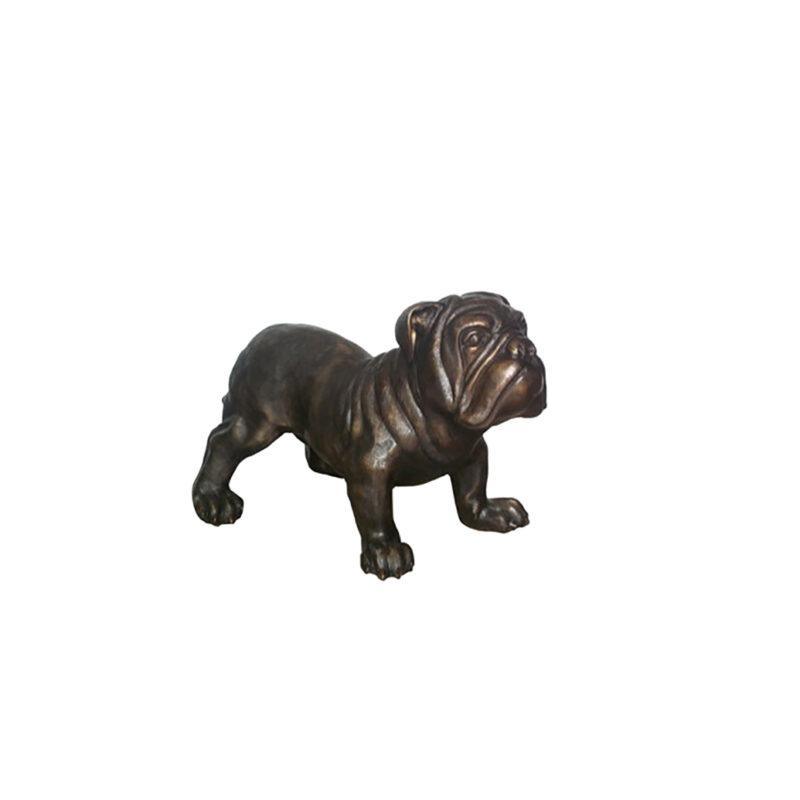 SRB702075 Bronze English Bulldog Sculpture by Metropolitan Galleries Inc